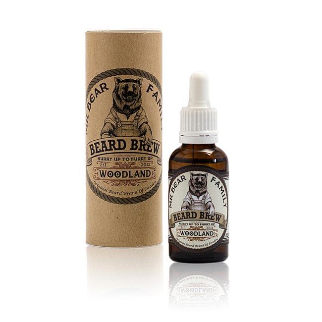 Woodland Bartöl Bartoil Beard Brew Bart Verpackung