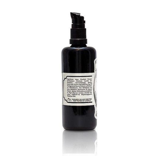 solomons beard shampoo beardwash vanilla and wood