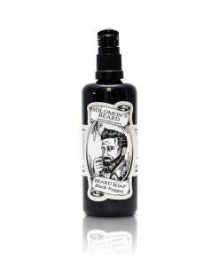 solomons beard shampoo beardwash vanilla and wood