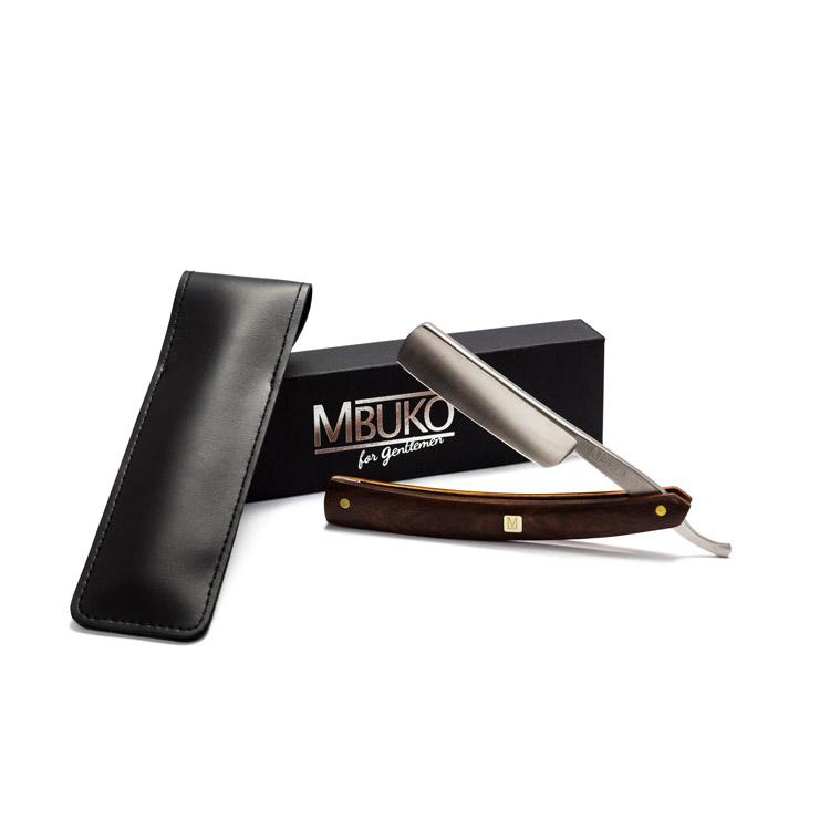 MBUKO Rasiermesser mit fester Klinge
